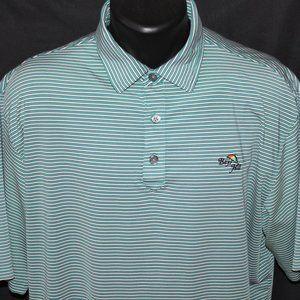 "Classy FootJoy ""BAY HILL"" Performance Golf Shirt L"